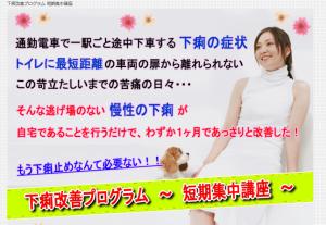 下痢改善プログラム短期集中講座 岩崎裕二の効果口コミ・評判レビュー