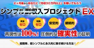 シンプル副収入プロジェクトEX 槇村亮平の効果口コミ・評判レビュー